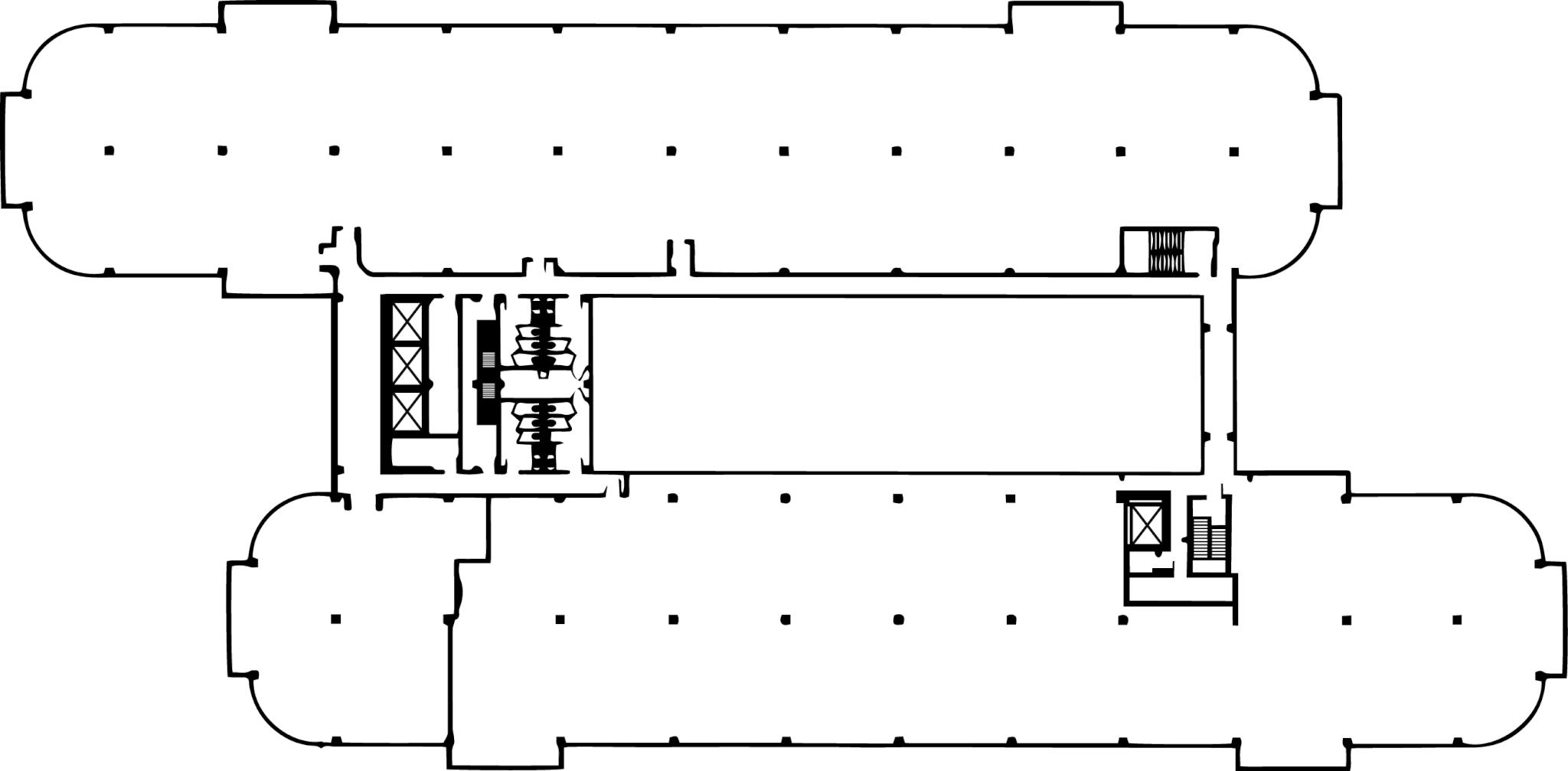 Floor Plan for Corporate Plaza